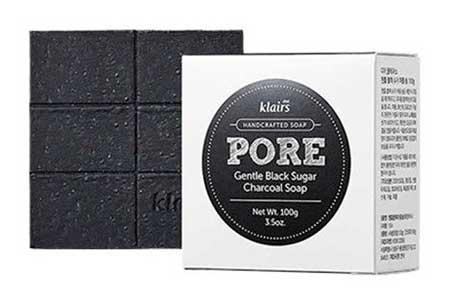 Skincare Terbaik Untuk Kulit Sensitif Dan Berjerawat - Gentle Black Sugar Charcoal Soap