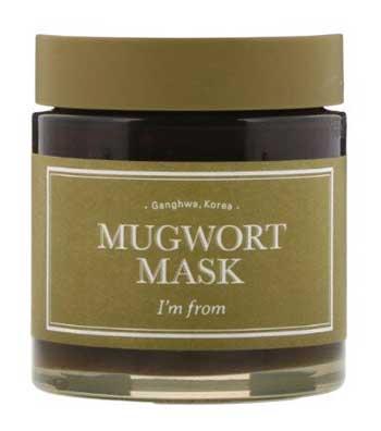 Skincare Terbaik Untuk Kulit Sensitif Dan Berjerawat - I'm From Mugwort Mask