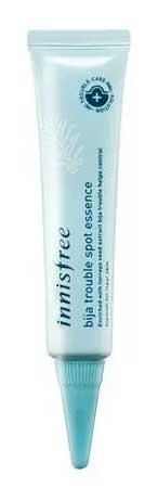 Skincare Terbaik Untuk Kulit Sensitif Dan Berjerawat - Innisfree Bija Trouble Spot Essence