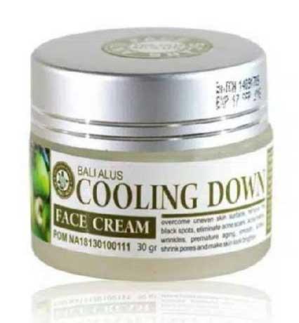 Skincare Untuk Menghilangkan Flek Hitam - Bali Alus Cream Face Cooling Down
