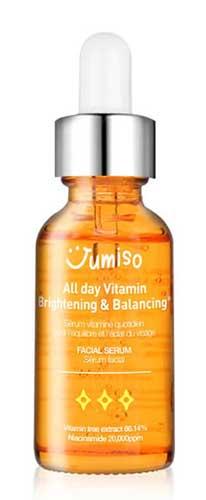 Skincare Untuk Menghilangkan Flek Hitam - Jumiso All Day Brightening and Balancing Vitamin Serum