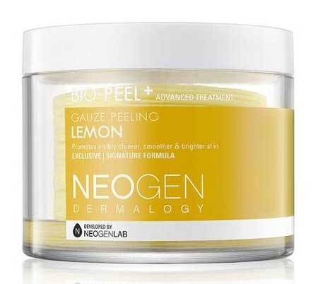 Skincare Untuk Menghilangkan Flek Hitam - Neogen Bio-Peel Gauze Peeling Lemon