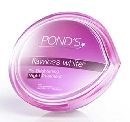 Skincare Untuk Menghilangkan Flek Hitam - Pond's Flawless White Brightening Night Cream