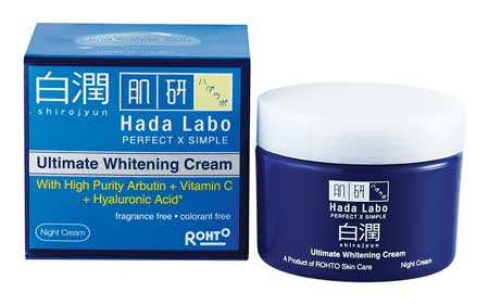 Skincare Untuk Menghilangkan Flek Hitam - Rohto Hada Labo Shirojyun Ultimate Whitening Cream