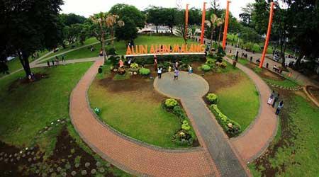 Tempat Wisata Malang Terbaru Dan Terpopuler - Alun-alun Kota Malang