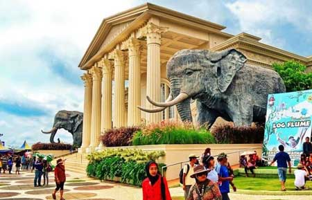 Tempat Wisata Malang Terbaru Dan Terpopuler - Jawa Timur Park 2 (Jatim Park 2)