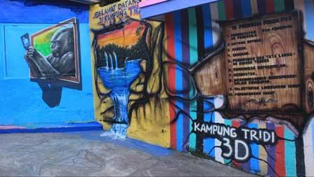 Tempat Wisata Malang Terbaru Dan Terpopuler - Kampung 3D