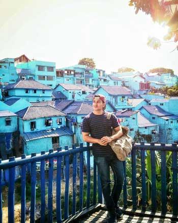 Tempat Wisata Malang Terbaru Dan Terpopuler - Kampung Biru Arema