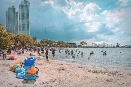 Tempat Wisata Pantai Di Jakarta - Pantai Ancol