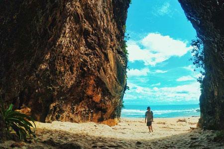Tempat Wisata Pantai Di Jakarta - Pantai Sawarna