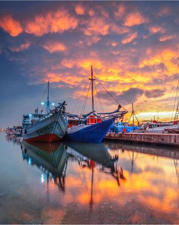 Tempat Wisata Terpopuler Di Makassar Dan Sekitarnya - Pelabuhan Paotere