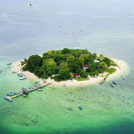Tempat Wisata Terpopuler Di Makassar Dan Sekitarnya - Pulau Samalona