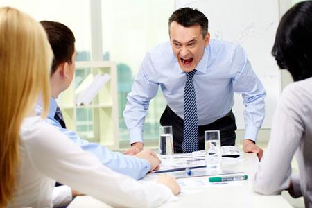 Tipe-Tipe Bos Di Kantor - Cepat marah
