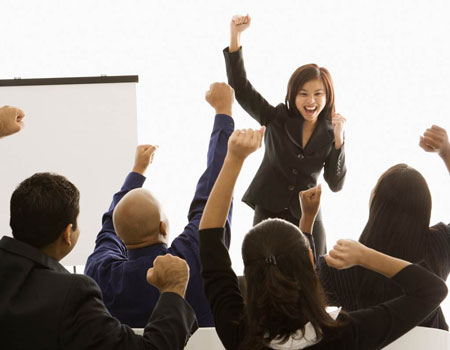 Tipe-Tipe Bos Di Kantor - Tipe Cheerleader/penyemangat