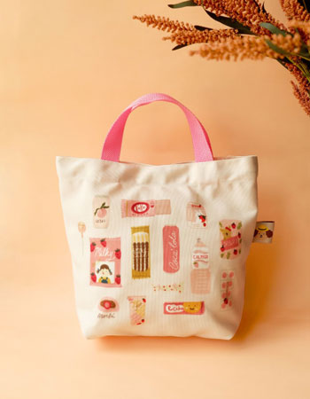 Merk Tote Bag Terbaik - Smitten by Pattern Tote Bag