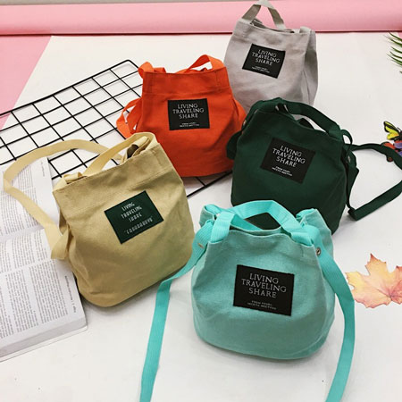 Merk Tote Bag Terbaik - Living Travelling Share Tote Bag
