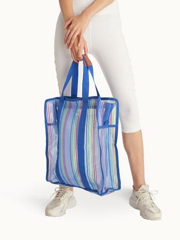 Merk Tote Bag Terbaik - Pomelo Oversize Plaid Tote Bag