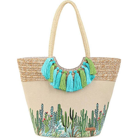 Merk Tote Bag Terbaik - Sakroots Artist Circle Lola Beach Bag