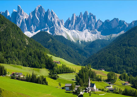 Tempat Wisata Di Dunia Yang Tidak Boleh Difoto - Desa Bergun