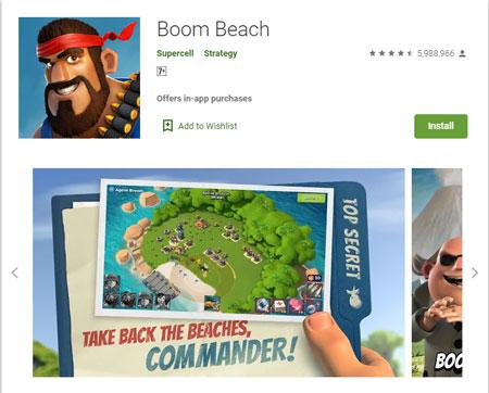 15 Game Mirip Clash of Clans (COC) Terbaik - Boom Beach