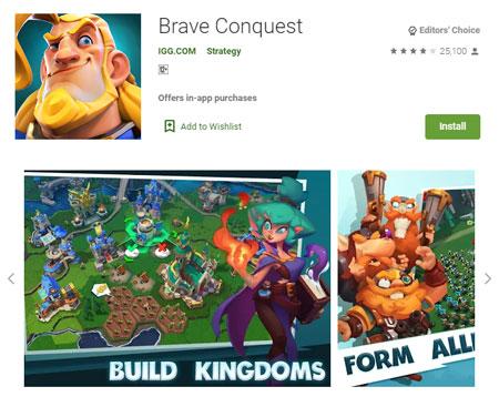 15 Game Mirip Clash of Clans (COC) Terbaik - Brave Conquest