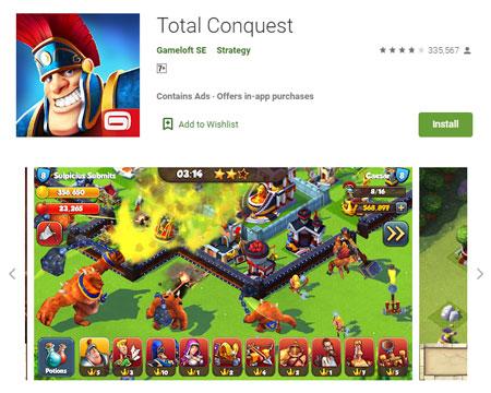 15 Game Mirip Clash of Clans (COC) Terbaik - Total Conquest