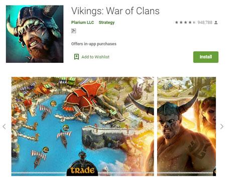 15 Game Mirip Clash of Clans (COC) Terbaik - Vikings: War of Clans
