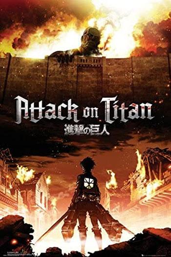 Anime Perang Terbaik - Shingeki no Kyojin