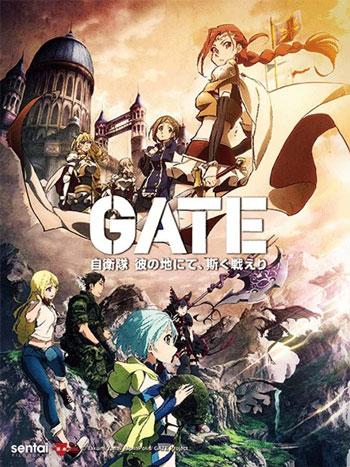 Anime Perang Terbaik - GATE