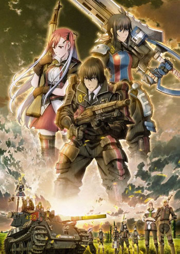 Anime Perang Terbaik - Senjou no Valkyria