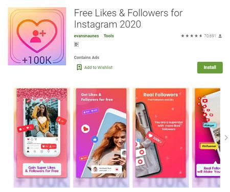Aplikasi Penambah Followers Instagram Terbaik dan Gratis 2020 - Free Likes & Followers for Instagram 2020