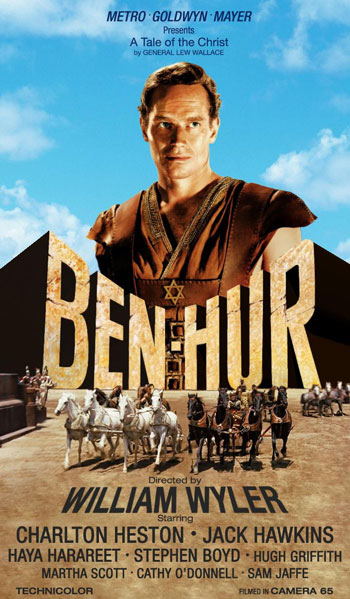 Daftar Film Kolosal Kerajaan Terbaik Sepanjang Masa - Ben-Hur (1959)