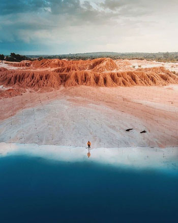 Daftar Tempat Wisata Paling Hits Di Bangka Belitung - Gurun Pelawan