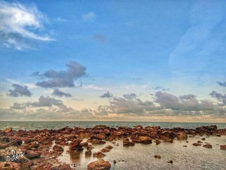 Daftar Tempat Wisata Paling Hits Di Bangka Belitung - Pantai Pasir Padi