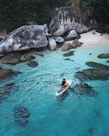Daftar Tempat Wisata Paling Hits Di Bangka Belitung - Pantai Tanjung Kelayang