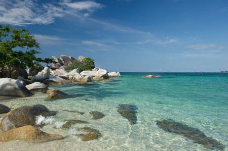 Daftar Tempat Wisata Paling Hits Di Bangka Belitung - Pantai Matras