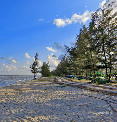 Daftar Tempat Wisata Paling Hits Di Bangka Belitung - Pantai Nyiur Melambai