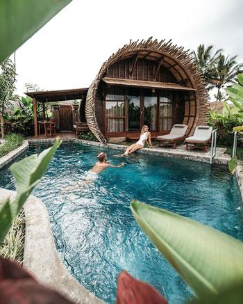 Daftar Villa Romantis Untuk Bulan Madu di Bali - Adiwana Dara Ayu Villas