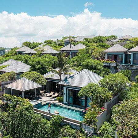 Daftar Villa Romantis Untuk Bulan Madu di Bali - Banyan Tree Ungasan
