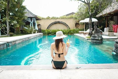 Daftar Villa Romantis Untuk Bulan Madu di Bali - Bebek Tepi Sawah Restaurant and Villa