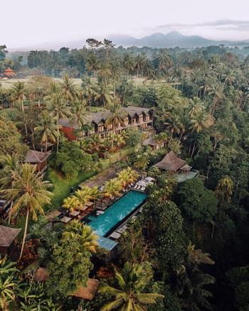 Daftar Villa Romantis Untuk Bulan Madu di Bali - Chapung Sebali Resort and Spa