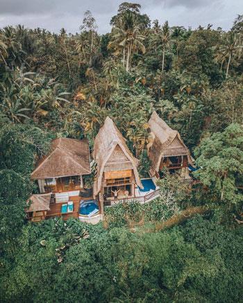 Daftar Villa Romantis Untuk Bulan Madu di Bali - Kupu-Kupu Barong Villas and Tree Spa by L'OCCITANE