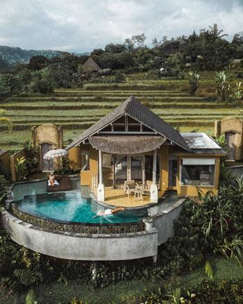 Daftar Villa Romantis Untuk Bulan Madu di Bali - Wapa Di Ume Sidemen