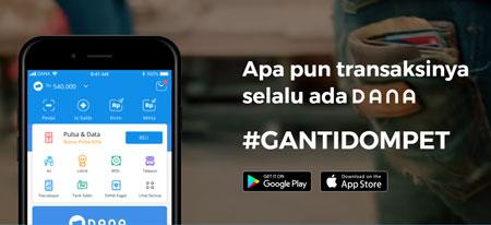 Dompet Digital/E-wallet Terbaik Di Indonesia - Dana