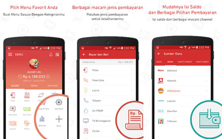 Dompet Digital/E-wallet Terbaik Di Indonesia - Doku