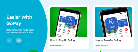 Dompet Digital/E-wallet Terbaik Di Indonesia - GoPay