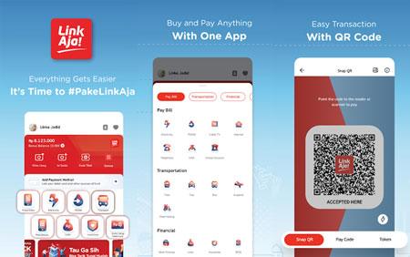 Dompet Digital/E-wallet Terbaik Di Indonesia - LinkAja!