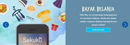Dompet Digital/E-wallet Terbaik Di Indonesia - Sakuku
