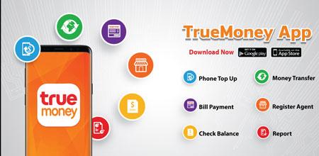 Dompet Digital/E-wallet Terbaik Di Indonesia - True Money