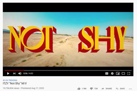 """Fakta """"Not Shy"""" Lagu Terbaru Dari Girlband ITZY"""